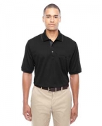 Embroidered Ash City - Core 365 Men's Motive Performance Pique Polo with Tipped Collar