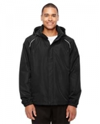 Custom Embroidered Ash City - Core 365 Men's Profile Fleece-Lined All-Season Jacket