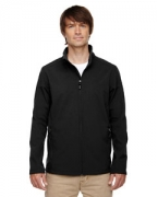 Monogrammed Ash City - Core 365 Men's Tall Cruise Two-Layer Fleece Bonded Soft Shell Jacket