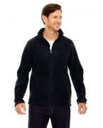 Custom Embroidered Ash City - Core 365 Men's Tall Journey Fleece Jacket