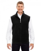 Custom Logo Ash City - Core 365 Men's Tall Journey Fleece Vest