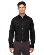 Custom Embroidered Ash City - Core 365 Men's Tall Operate Long-Sleeve Twill Shirt