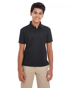 Customized Ash City - Core 365 Youth Origin Performance Pique Polo
