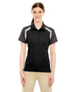 Custom Logo Ash City - Extreme Edry Ladies' Colorblock Polo