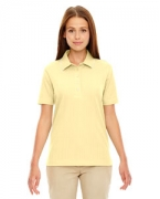 Custom Logo Ash City - Extreme Edry Ladies' Needle-Out Interlock Polo