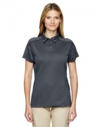 Custom Logo Ash City - Extreme Eperformance Ladies' Fluid Mlange Polo