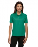 Personalized Ash City - Extreme Eperformance Ladies' Jacquard Pique Polo