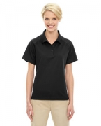 Custom Logo Ash City - Extreme Eperformance Ladies' Ottoman Textured Polo