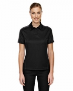 Customized Ash City - Extreme Eperformance Ladies' Pique Colorblock Polo