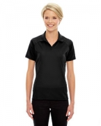 Custom Logo Ash City - Extreme Eperformance Ladies' Stride Jacquard Polo