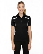 Embroidered Ash City - Extreme Eperformance Ladies' Tempo Recycled Polyester Performance Textured Polo