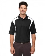 Embroidered Ash City - Extreme Eperformance Men's Colorblock Textured Polo