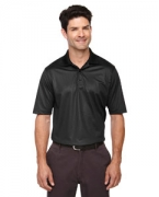Custom Logo Ash City - Extreme Eperformance Men's Launch Snag Protection Striped Polo