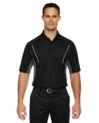 Logo Ash City - Extreme Eperformance Men's Parallel Snag Protection Polo with Piping