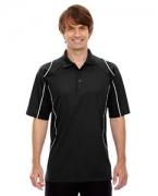 Logo Ash City - Extreme Eperformance Men's Velocity Snag Protection Colorblock Polo with Piping