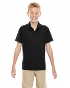 Customized Ash City - Extreme Eperformance Youth Shield Snag Protection Short-Sleeve Polo