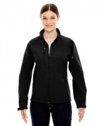 Customized Ash City - North End Ladies' Compass Colorblock Three-Layer Fleece Bonded Soft Shell Jacket