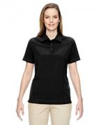 Logo Ash City - North End Ladies' Excursion Crosscheck Woven Polo