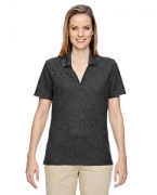 Custom Logo Ash City - North End Ladies' Excursion Nomad Performance Waffle Polo