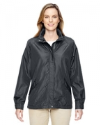 Logo Ash City - North End Ladies' Excursion Transcon Lightweight Jacket with Pattern