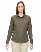 Personalized Ash City - North End Ladies' Excursion Utility Two-Tone Performance Shirt