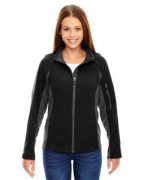 Personalized Ash City - North End Ladies' Generate Textured Fleece Jacket