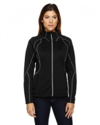 Personalized Ash City - North End Ladies' Gravity Performance Fleece Jacket