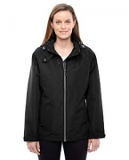 Logo Ash City - North End Ladies' Insight Interactive Shell Jacket