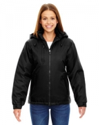 Embroidered Ash City - North End Ladies' Insulated Jacket