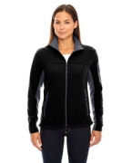 Logo Ash City - North End Ladies' Microfleece Jacket