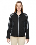 Customized Ash City - North End Ladies' Strike Colorblock Fleece Jacket