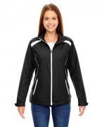 Embroidered Ash City - North End Ladies' Tempo Lightweight Recycled Polyester Jacket with Embossed Print
