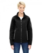 Personalized Ash City - North End Ladies' Three-Layer Fleece Bonded Soft Shell Technical Jacket
