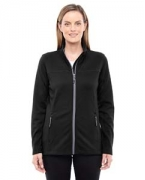 Personalized Ash City - North End Ladies' Torrent Interactive Textured Performance Fleece Jacket