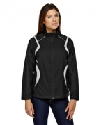 Custom Embroidered Ash City - North End Ladies' Venture Lightweight Mini Ottoman Jacket