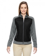 Custom Logo Ash City - North End Ladies' Victory Hybrid Performance Fleece Jacket