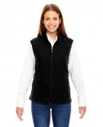 Personalized Ash City - North End Ladies' Voyage Fleece Vest