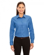 Custom Embroidered Ash City - North End Ladies' Windsor Long-Sleeve Oxford Shirt