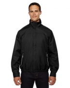 Personalized Ash City - North End Men's Bomber Micro Twill Jacket