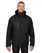 Embroidered Ash City - North End Men's Caprice 3-in-1 Jacket with Soft Shell Liner