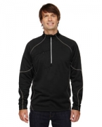 Monogrammed Ash City - North End Men's Catalyst Performance Fleece Half-Zip