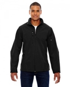 Customized Ash City - North End Men's Compass Colorblock Three-Layer Fleece Bonded Soft Shell Jacket