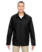 Custom Embroidered Ash City - North End Men's Excursion Ambassador Lightweight Jacket with Fold Down Collar