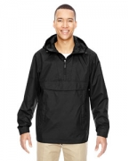 Logo Ash City - North End Men's Excursion Intrepid Lightweight Anorak
