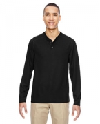Custom Logo Ash City - North End Men's Excursion Nomad Performance Waffle Henley