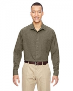 Embroidered Ash City - North End Men's Excursion Utility Two-Tone Performance Shirt