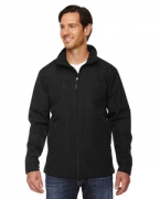 Logo Ash City - North End Men's Forecast Three-Layer Light Bonded Travel Soft Shell Jacket