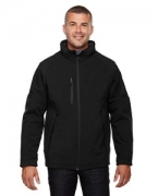 Custom Logo Ash City - North End Men's Glacier Insulated Three-Layer Fleece Bonded Soft Shell Jacket with Detach