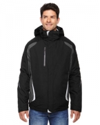 Embroidered Ash City - North End Men's Height 3-in-1 Jacket with Insulated Liner