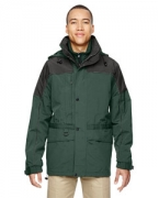 Personalized Ash City - North End Men's 3-in-1 Two-Tone Parka
